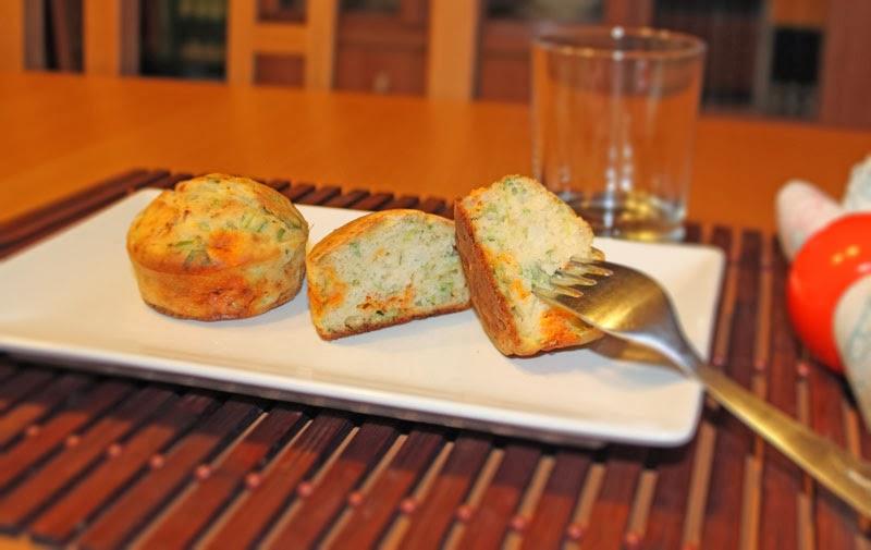 Muffins de chorizo y apio