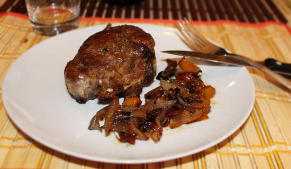 Carrillera de cerdo al horno