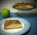 Tarta de manzana Streusel (Receta Hummingbird)