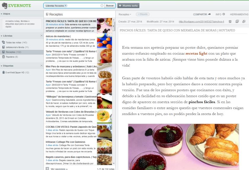 captura aplicacion web