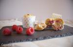 Pastelitos de requesón y frambuesas sin azúcar