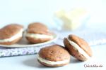 Pastelitos de remolacha con chocolate blanco