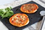 Pizza basica de masa esponjosa