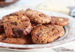 Sin gluten: galletas de soja con chocolate negro y naranja