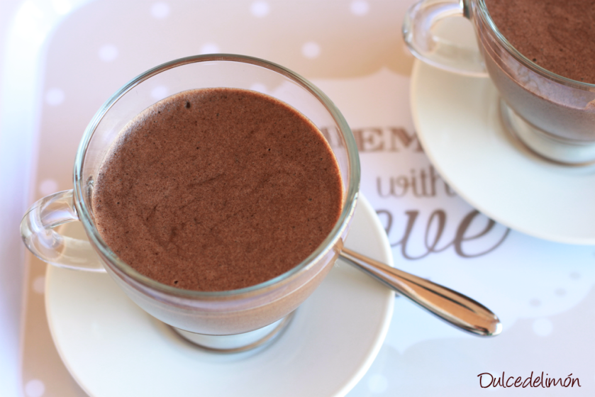 Mousse de crema dark cookie