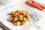 Juego de Blogueros 2.0: Ñoquis de Zanahoria Salteados con Espárragos