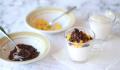 Mousse Ligera de Yogur con Perlas de Naranja y Chocolate Sin Azúcar