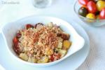 Crumble de Tomates y Calabacín