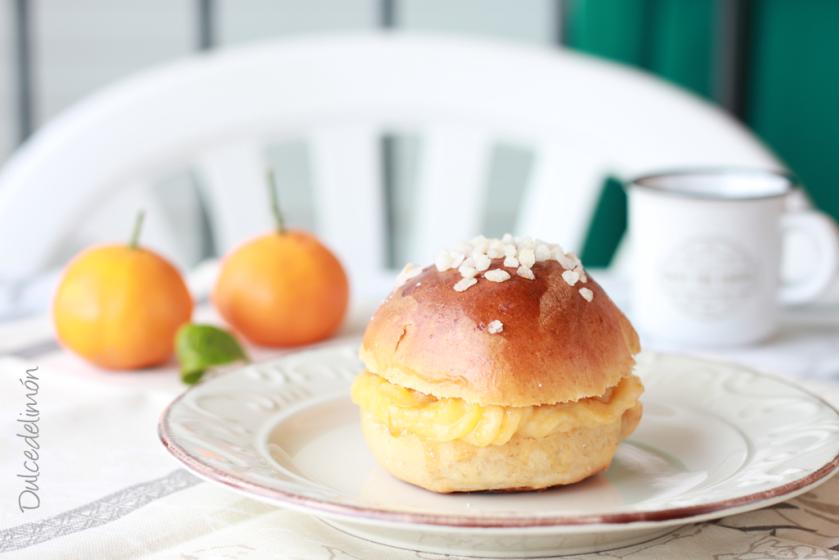 Roscón de mandarina