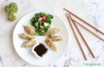 Gyozas de Brócoli con Secreto de Cerdo y Vegetarianas con Tofu