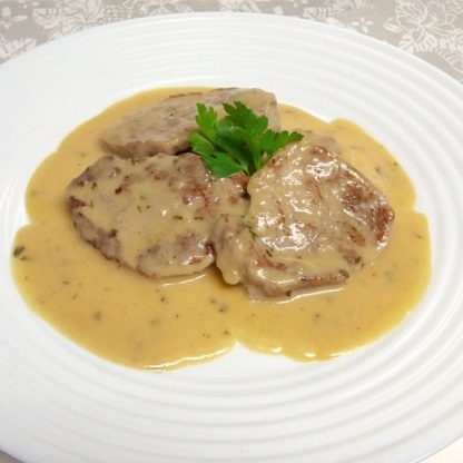 Sylvi - Solomillo en salsa de yogur