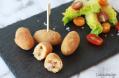 Croquetas de patata y lacón